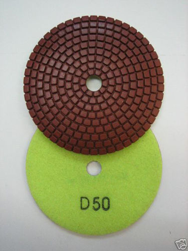 "Primary image for ZERED 4"" Standard Diamond Polishing Pad Disc #50 Granite Tool"