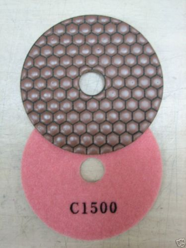 "Primary image for ZERED 4""PREMIUM Diamond Dry Polishing Pad Disc #1500 Granite Tool"