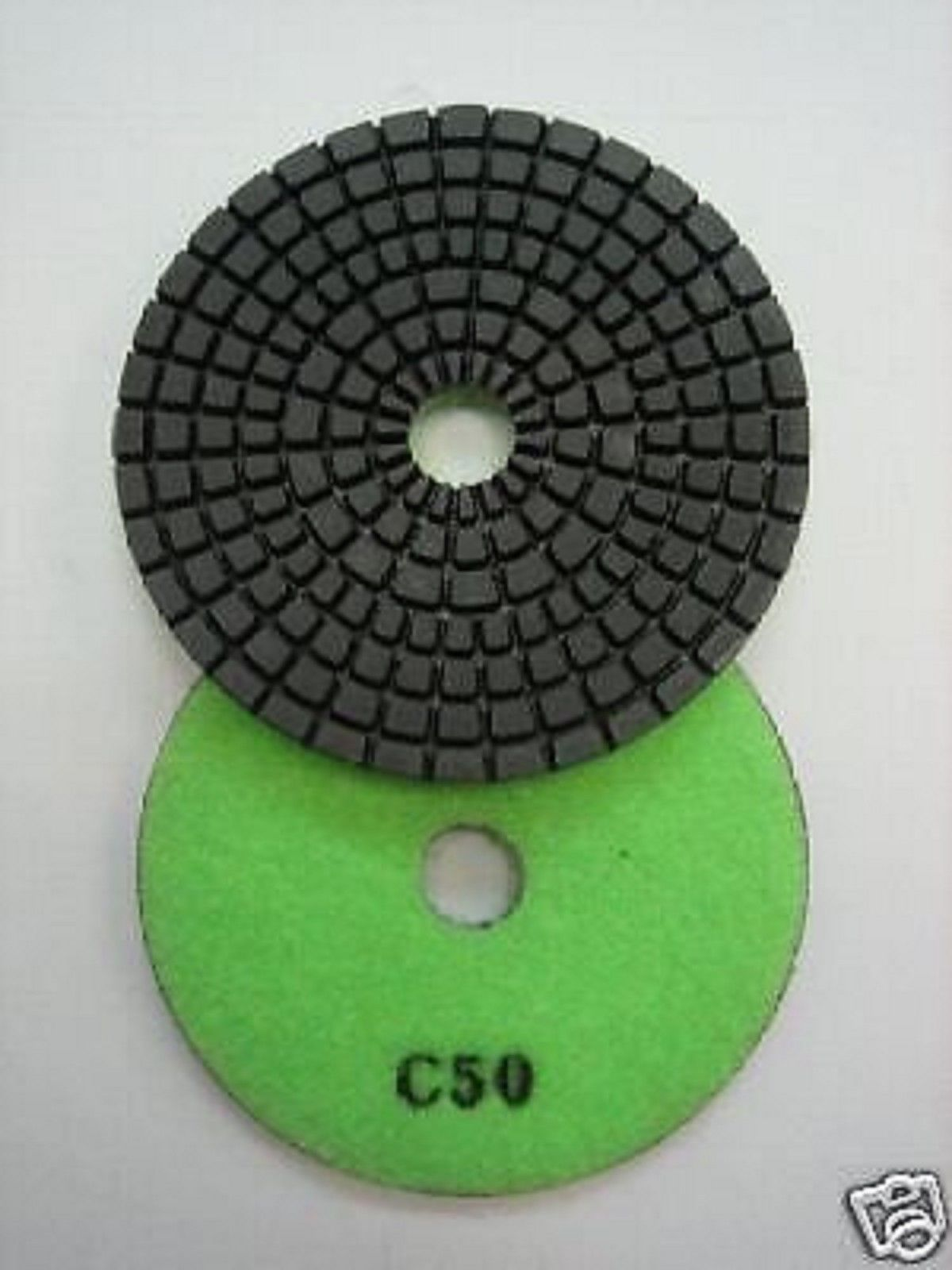 "Primary image for ZERED 3"" Premium Diamond Polishing Pad for Granite Marble 50"