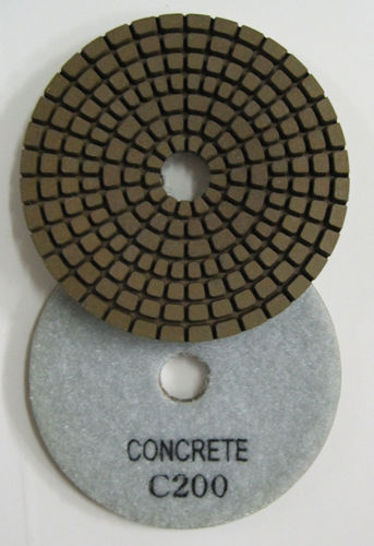"Primary image for ZERED 5"" Diamond Concrete Resin Polishing Pads Grit 200"