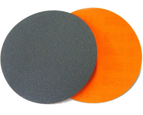 "Primary image for ZERED 5"" Hook & Loop Abrasive Sand Paper Discs Granite Marble"