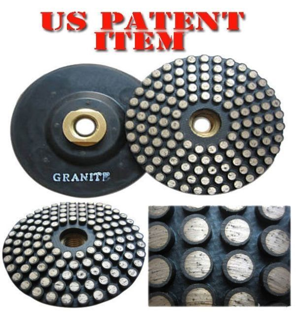 Primary image for ZERED Diamond Metal Polishing Pad with Thread for Granite #300