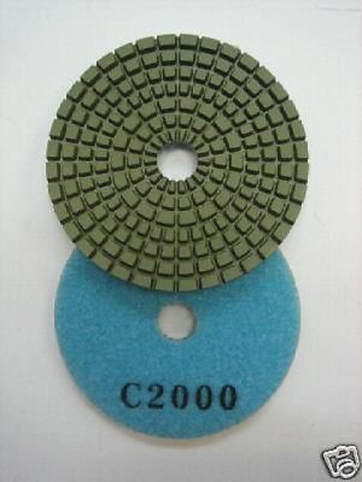 "Primary image for ZERED 3"" Premium Diamond Polishing Pad for Granite Marble 2000"