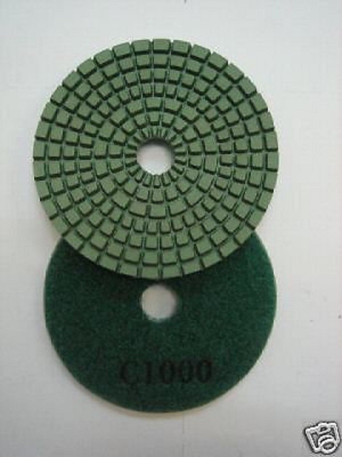 "Primary image for ZERED 4"" Premium Diamond Polishing Pads for Granite #1000"
