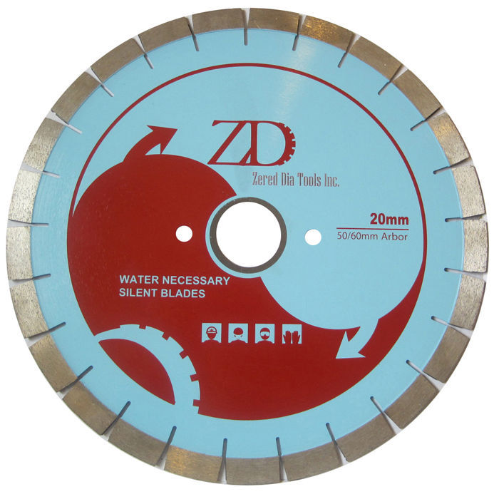 "Primary image for ZERED 16"" Silent Core Diamond Blade for Bridge Saw Granite - 20"