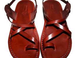 Brown Roxy Leather Sandals - $65.00
