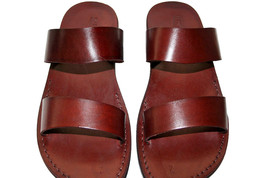 Brown Bio Leather Sandals - $80.73 CAD