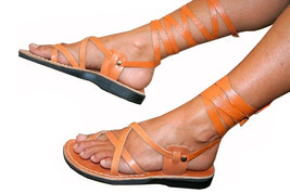 Caramel Gladiator Leather Sandals - $75.00