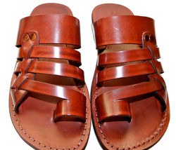 Brown Skate Leather Sandals - $65.00