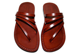 Brown Rainbow Leather Sandals - $60.00