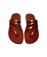 Brown Rainbow Leather Sandals - £47.36 GBP