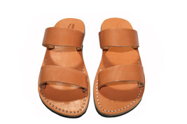 Caramel Bio Leather Sandals - $60.00