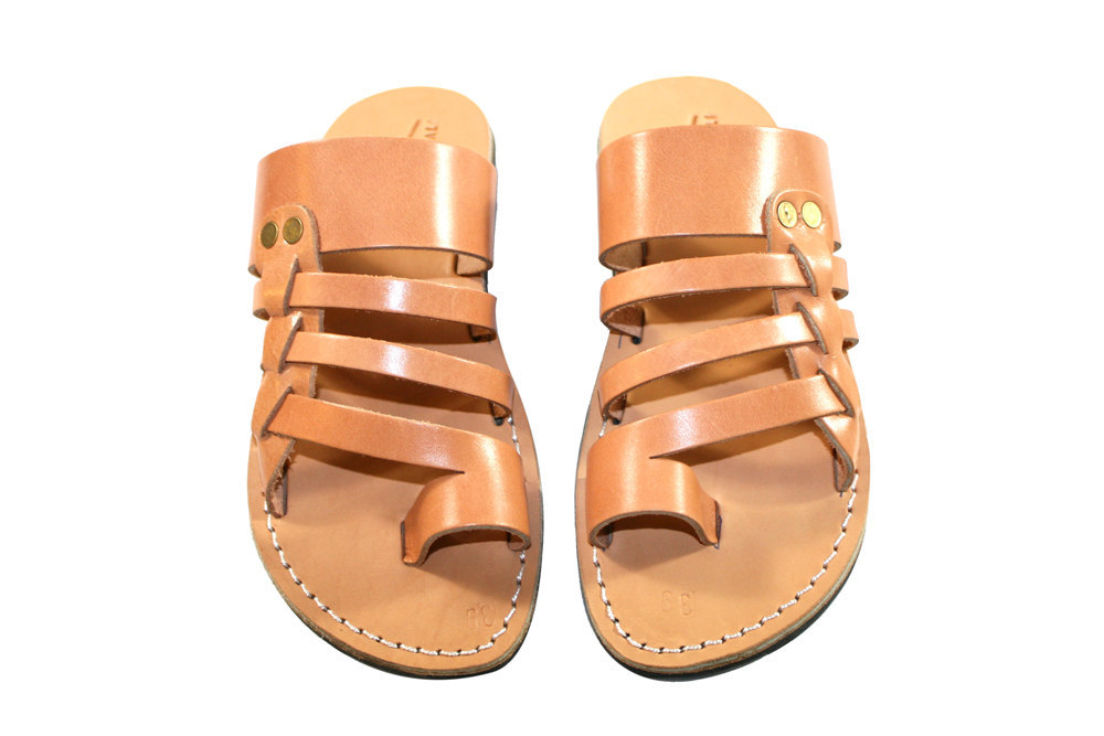 Primary image for Caramel Skate Leather Sandals