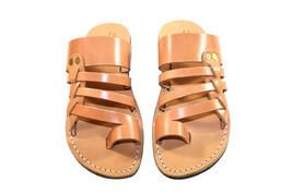 Caramel Skate Leather Sandals - $65.00