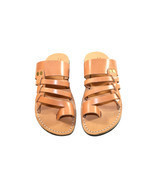 Caramel Skate Leather Sandals - $87.53 CAD