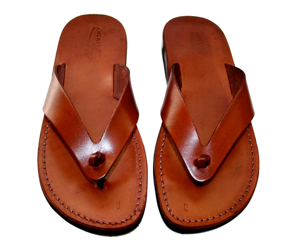 Primary image for Brown Surf Leather Sandals