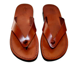 Brown Surf Leather Sandals - £47.41 GBP