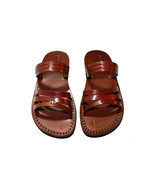 Brown Sting Leather Sandals - New Collection - $60.00