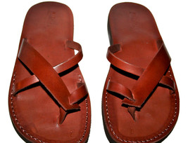 Brown Tropide Leather Sandals - $60.00