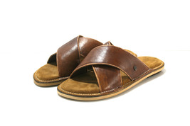 Brown SWELL Leather Sandals - Anatomic Soles - $105.00