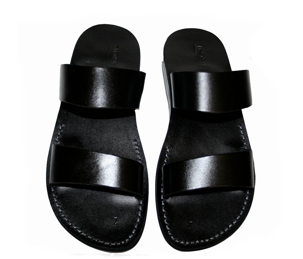 Primary image for Black Bio Leather Sandals