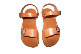 Caramel Eclipse Leather Sandals - $65.00