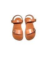 Caramel Eclipse Leather Sandals - $65.00