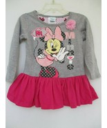 Disney Baby Girl's Size 24M Long Sleeve Minnie Mouse Dress - $20.00
