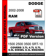 fsm factory service repair manual at bonanza other books rh bonanza com 2007 dodge ram 3500 repair manual 2007 dodge ram 1500 repair manual