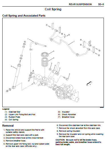 ISUZU FRONTERA 1999 - 2001 FACTORY SERVICE REPAIR WORKSHOP MAINTENANCE MANUAL