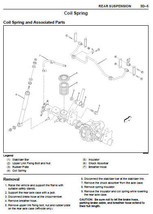 ISUZU FRONTERA 1999 - 2001 FACTORY SERVICE REPAIR WORKSHOP MAINTENANCE MANUAL image 4