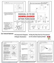 ISUZU FRONTERA 1999 - 2001 FACTORY SERVICE REPAIR WORKSHOP MAINTENANCE MANUAL image 6