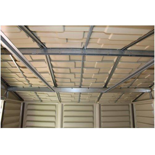Vinyl shed storage kit floor garage and 50 similar items for Garage en kit pvc