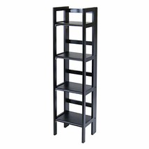 Winsome Wood 20852 Terry Shelving, Black - $94.88