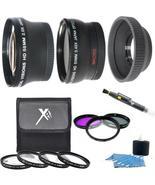 7PC Lens/Filter Accessory Kit For Canon EOS T5i T4i T3i T2i T1i SL1 T3 X... - $79.99