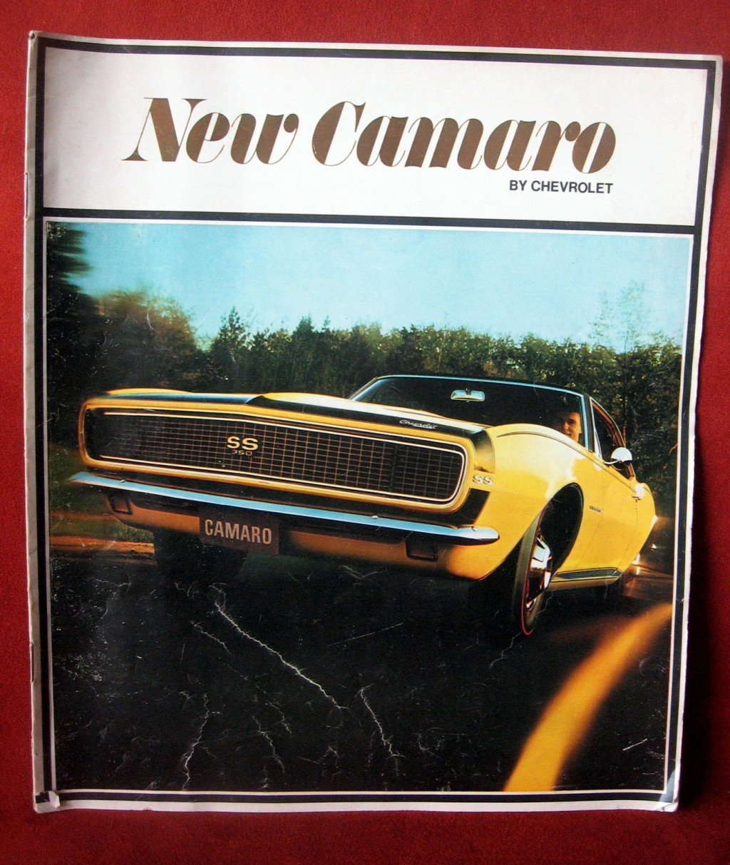 Primary image for Vintage Dealership 1967 Camaro Chevrolet Chevy Sport SS 350 Rally FREE SHIP