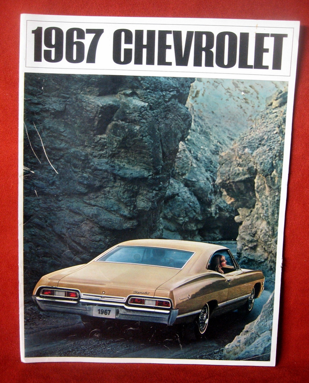Primary image for Vintage Dealership 1967 Chevrolet Chevy Sales Brochure Caprice Impala Bel Air