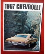 Vintage Dealership 1967 Chevrolet Chevy Sales Brochure Caprice Impala Be... - $48.35