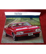 Vintage Dealership 1967 Chevrolet Chevy Sales Brochure Corvair Monza 500... - $38.67