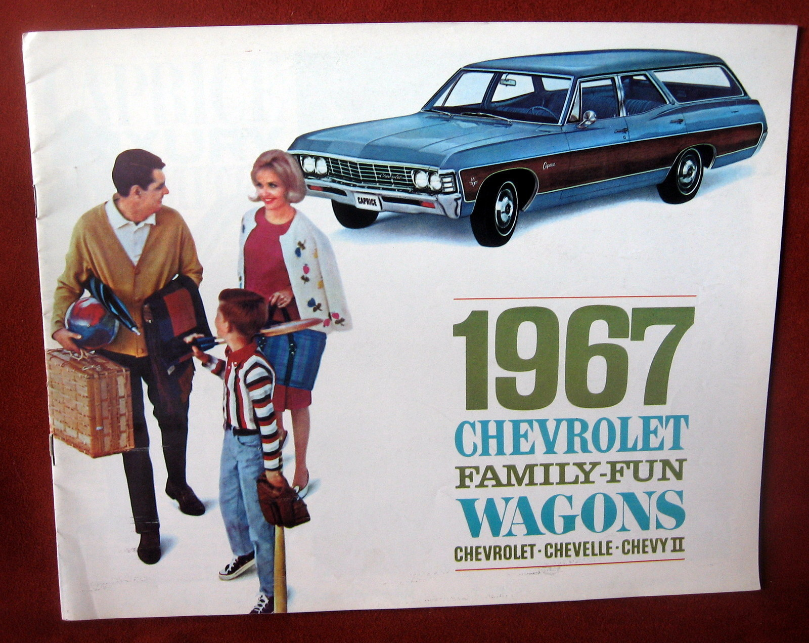 Primary image for Vintage Dealership 1967 Chevrolet Chevy Sales Brochure Station Wagon Chevelle