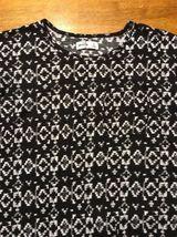 Abercrombie Kid's Girl's Black & White Long Sleeve Shirt - Blouse - Size: Small image 3