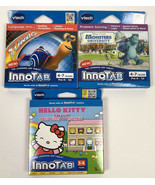 Innotab Educational Video 3 Game Lot Monsters University Turbo Hello Kit... - £7.73 GBP