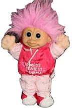 Russ World's Greatest Grandma Troll Doll Excellent Condition  - $4.99