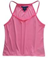 Tommy Hilfiger Size L Girls Pink Spaghetti Strap Tank Top - $9.99