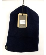 Herschel Supply Co Navy Blue Deep Cuff Beanie Hat Unisex Womens Mens NWT - $15.58