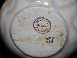 Czechoslovakia Ceramic Baskets AA18-1368-E Vintage image 4