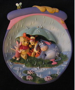 """It's Just A Small Piece of Weather"" Collector's Plate - $39.99"