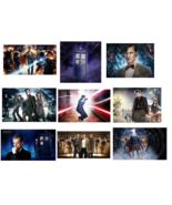 9 Doctor Who inspired Stickers,Party Supplies,Favors, Birthday,Labels,De... - $8.99