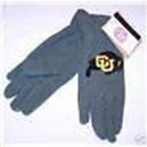 NWT Officially Licensed NCAA Colorado Buffalo Ladies Lightweight Fleece Gloves - $5.99
