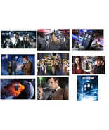 9 Doctor Who INSPIRED Stickers, Party Supplies, Gifts, Favors, Birthday,... - $8.99